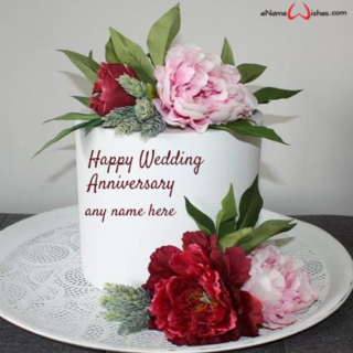 anniversary-cake-with-name-editor-online-free