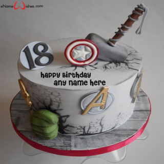 avengers-birthday-cake-with-name