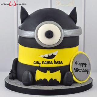 batman-theme-minion-birthday-cake-with-name-maker