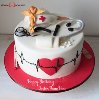 birthday-cake-for-doctor-with-name