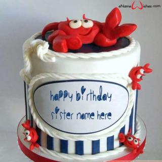birthday-name-cake-for-sister