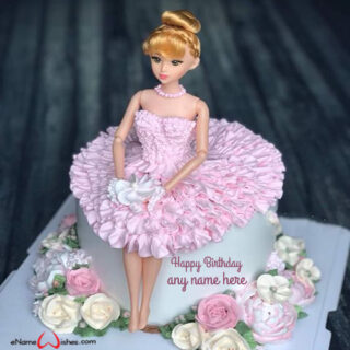 cute-barbie-doll-cake-with-name-generator