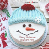cute-snowman-christmas-wish-cake-design-with-name-edit