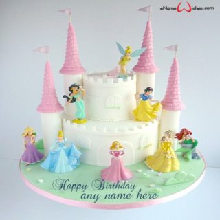 disney-magical-princess-castle-cake-with-name