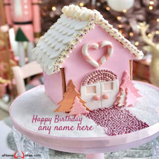 gingerbread-house-birthday-cake-with-name
