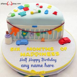 half-year-birthday-celebration-cake-with-name