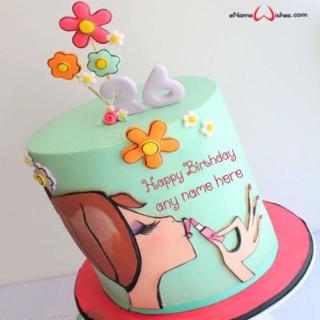 lipstick-birthday-cake-with-name