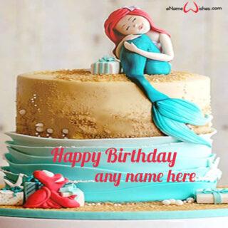 little-mermaid-birthday-cake-design-with-name