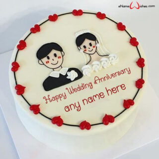 lovely-couple-wedding-anniversary-wishes-cake-with-name