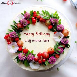 making-name-on-birthday-cake