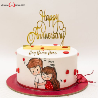 marriage-anniversary-wishes-cake-with-name