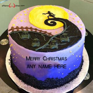 nightmare-before-christmas-cake-with-name