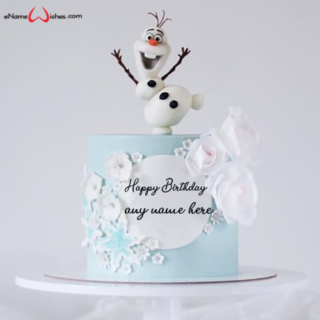 olaf-birthday-cake-with-name-edit