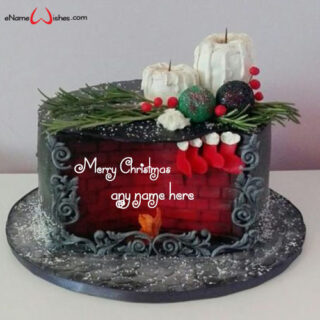 online-christmas-wishes-cake-with-name-generator