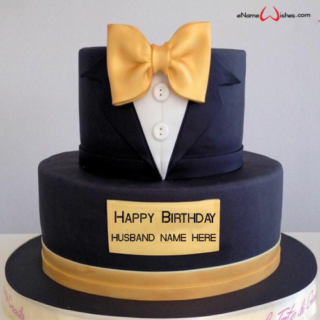 online-name-editing-on-birthday-cake-for-husband