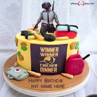 pubg-birthday-cake-with-name-generator