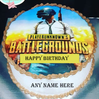 pubg-cake-with-name
