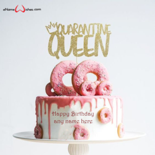 quarantine-queen-birthday-cake-with-name-edit