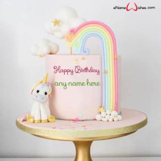 rainbow-unicorn-birthday-cake-with-name-generator
