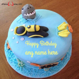 scuba-diver-birthday-cake-with-name-editing