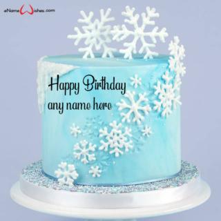 snowflake-birthday-cake-ideas-with-name