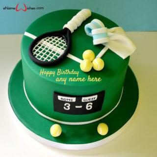 tennis-game-birthday-cake-with-name-generator