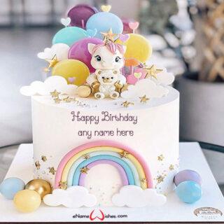 unicorn-birthday-cake-with-name-generator-online