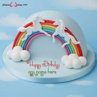unicorn-rainbow-half-birthday-cake-design-with-name