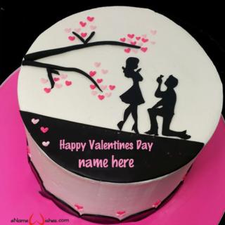 valentine-cake-with-name