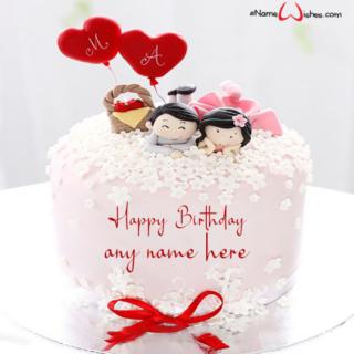 wedding-anniversary-cake-with-name