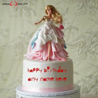 write-name-on-barbie-doll-cake