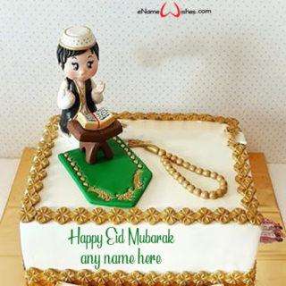 write-name-on-eid-mubarak-cake