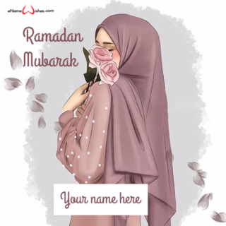 write-name-on-stylish-hijab-girl-ramadan-dp