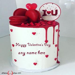 write-name-on-valentine-day-cake