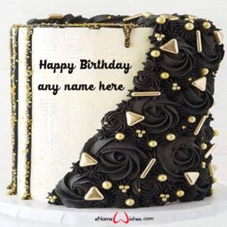 write-your-name-on-flower-birthday-cake