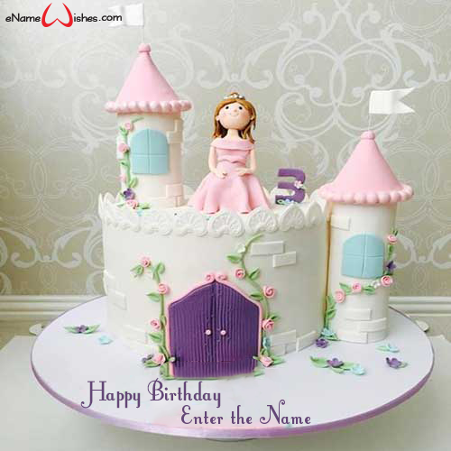 Tremendous Beautiful Princess Birthday Name Cake Enamewishes Funny Birthday Cards Online Alyptdamsfinfo