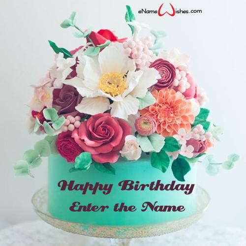 Magnificent Love Boyfriend Birthday Cake With Name Enamewishes Personalised Birthday Cards Xaembasilily Jamesorg