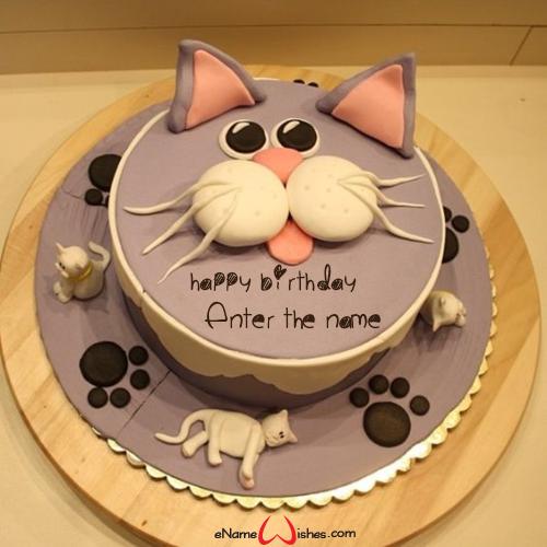 Astounding Birthday Wishes Cake Images Name Editing Enamewishes Birthday Cards Printable Inklcafe Filternl